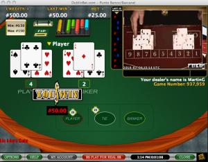 Dublin Bet Live Casino