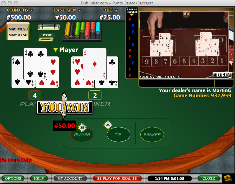 live roulette dublin